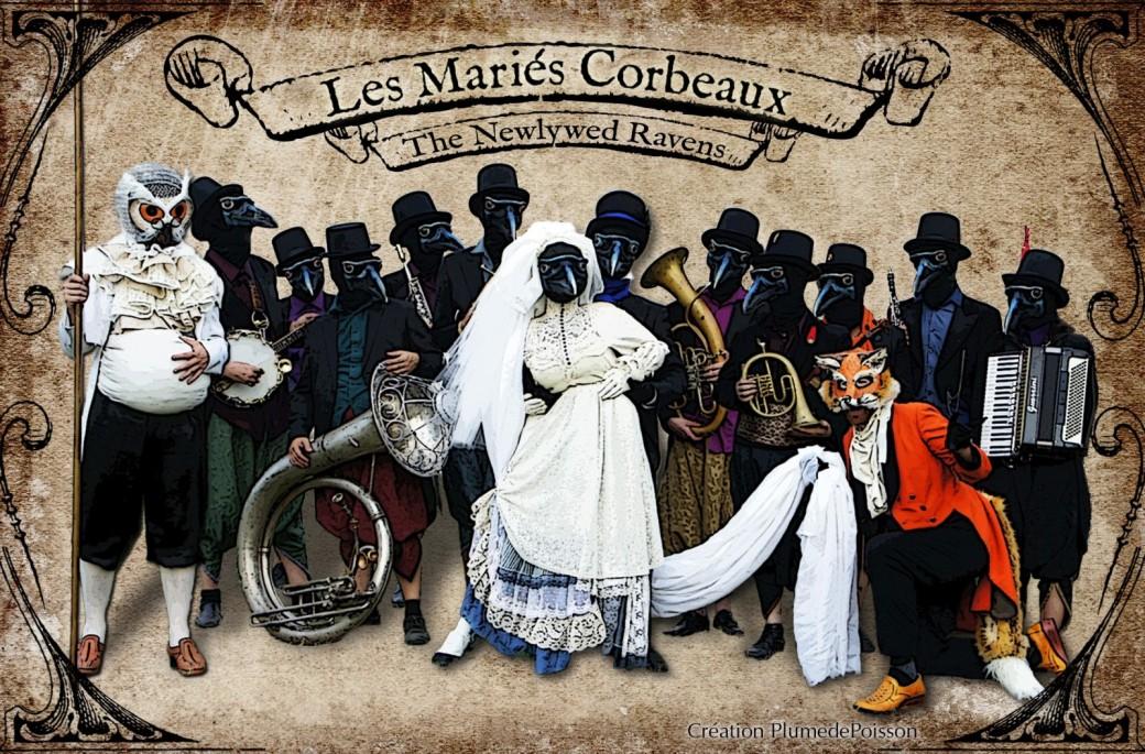 Photo Les mariés corbeaux